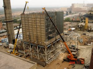 Construction, installation and commissioning of accessory equipment for transporting fine limestone to New Limestone Unit