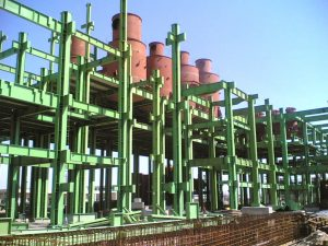 Construction and installation of the sugar plant equipment