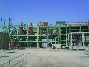 Construction and installation of fuel and molasses tanks, sand filters, sand blasting and painting in Dehkhoda sugar factory