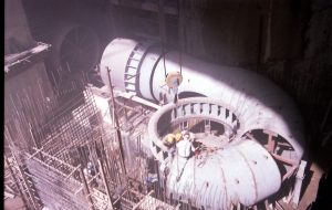 Installation of h ydro mechanical equipme nt of Maroon power plant