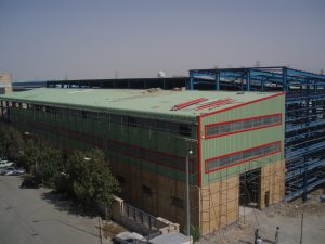 Completing buildings, yards, mechanical and e lectric al facilities of the development plan of Parto Factory