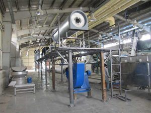 Study, design, procurement, construction, transportation, installation and commissioning of the line for converting fruit and vegetable waste into animal food: