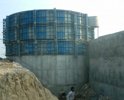 Construction of mechanical and electrical installations for MDF industrial board factory