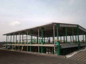 Development and construction of the production hall and ancillary buildings (Ghadir)