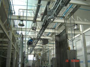 Installation and commissioning of slaughtering equipment