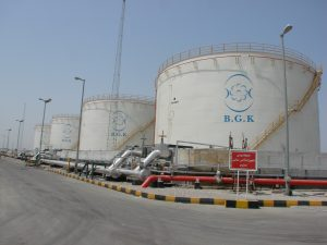 Construction of four 5970 m 3 reservoirs and oil storage accessories of Badar Abbas Bana Gostar Karaneh Company