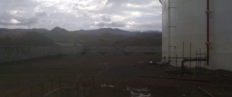 Construction of a 3000 m 3 mazut storage tank for Shahid Beheshti power plant in Loshan