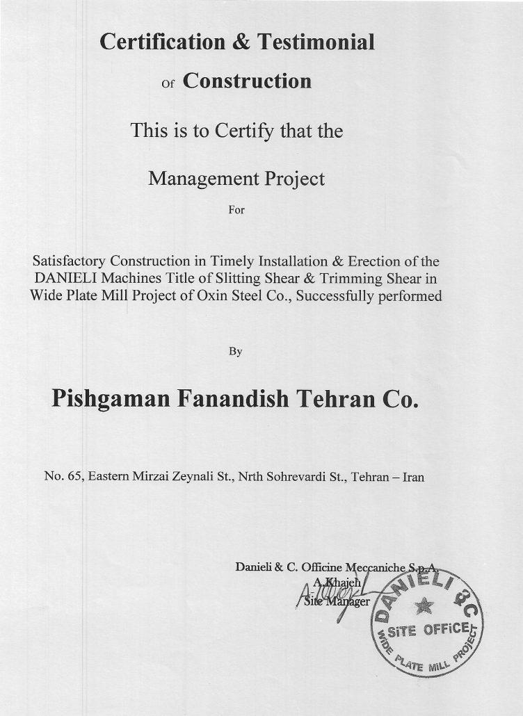 Danieli& C. Officine Meccaniche S.P.A