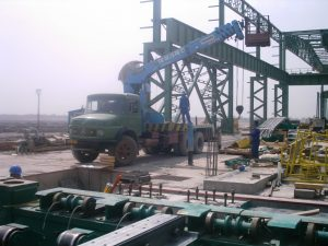 Installation and commissioning of 30 cranes and 2 scissors for wide plate rolling mill unit in Oxin Steel Company