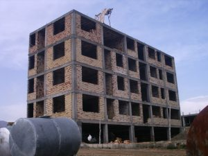 Construction of 332 - unit Jilardno residential complex