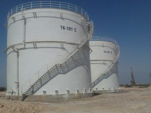 The project includes engineering services, procurement of raw materials, construction work, installation and commissioning testing for the construction of two steel fuel ATK tanks for the Kish Airport fuel storage .
